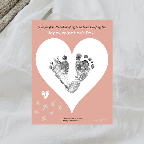 Cherish your little one's footprints forever.