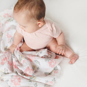 Muslin Swaddle - Flowers
