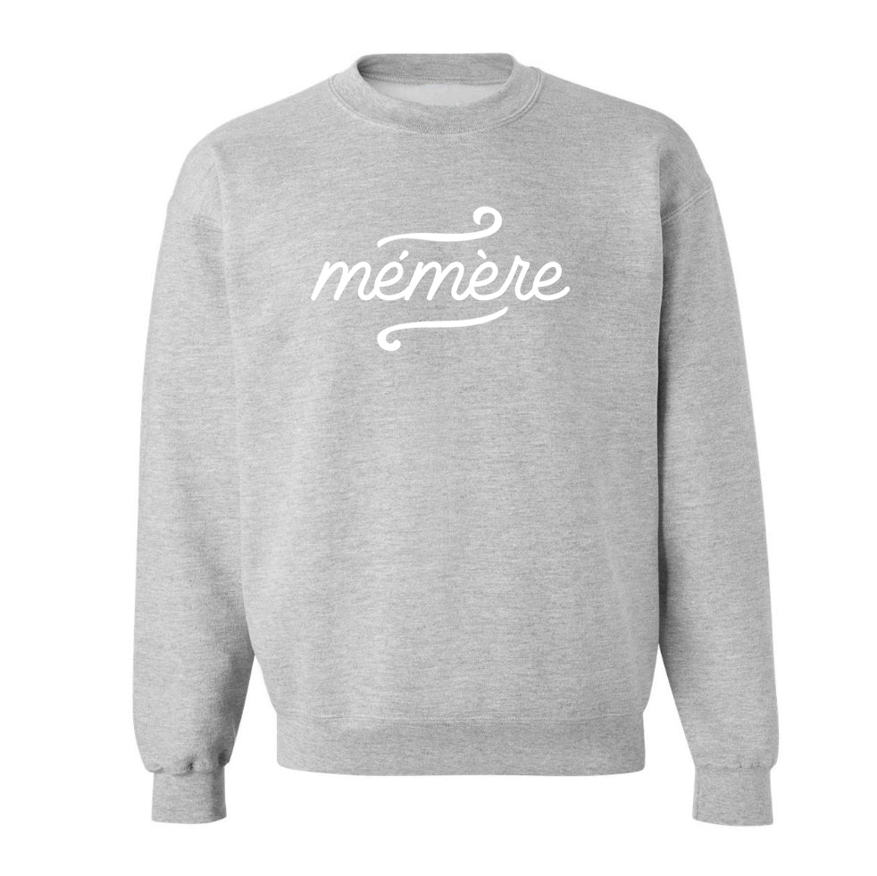 Grey Mémère Sweatshirt