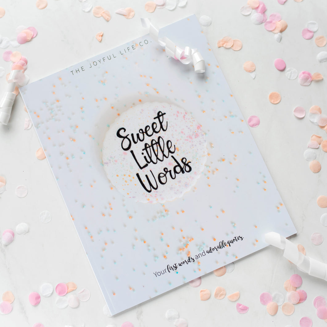 Sweet Little Words Book