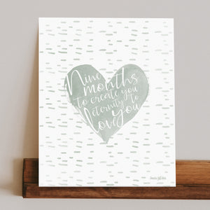 Eternal Love Print