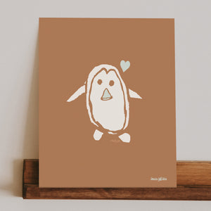 mason the penguin print