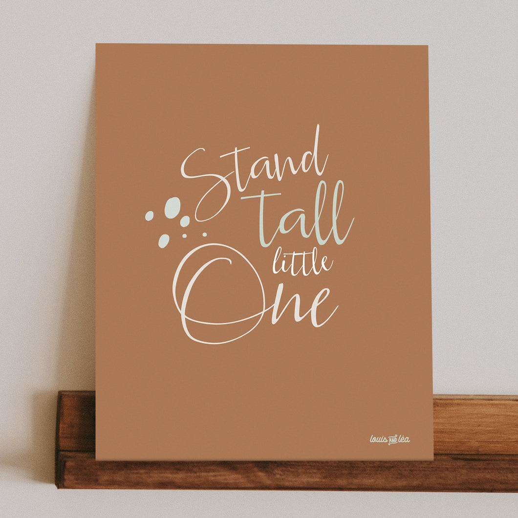 stand tall print