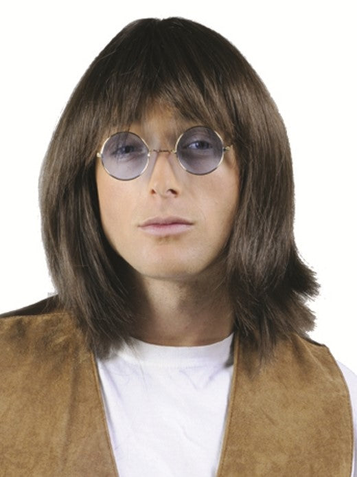 60'S HIPPIE GUY DELUXE WIG - 3 COLORS