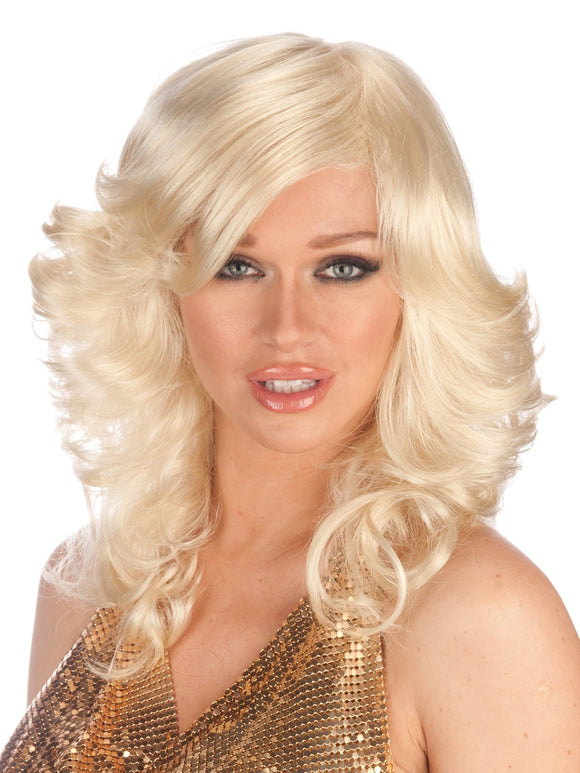 70'S DISCO QUEEN PREMIUM WIG - 4 COLORS