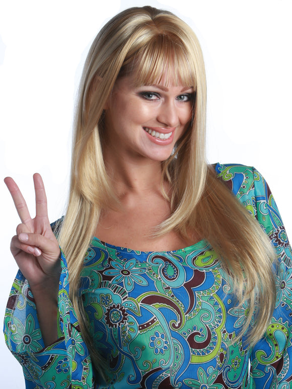 60'S HIPPIE GIRL PREMIUM WIG - 5 COLORS