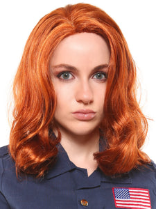 "BLACK WIDOW - ""AVENGERS"" PREMIUM WIG"