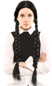"WEDNESDAY ADDAMS - ""THE ADDAMS FAMILY"" DELUXE WIG"