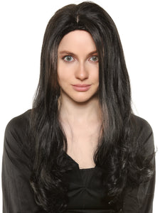 "MORTICIA ADDAMS - ""THE ADDAMS FAMILY"" DELUXE WIG"