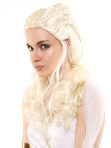 "DRAGON QUEEN DAENERYS - ""GAME OF THRONES"" PREMIUM WIG"