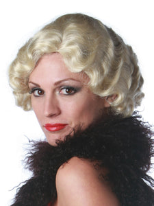 20'S FINGERWAVE PREMIUM WIG - 6 COLORS