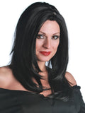 "MORTICIA ADDAMS - ""THE ADDAMS FAMILY"" PREMIUM WIG"