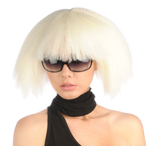 POKER FACE LADY GAGA DELUXE WIG