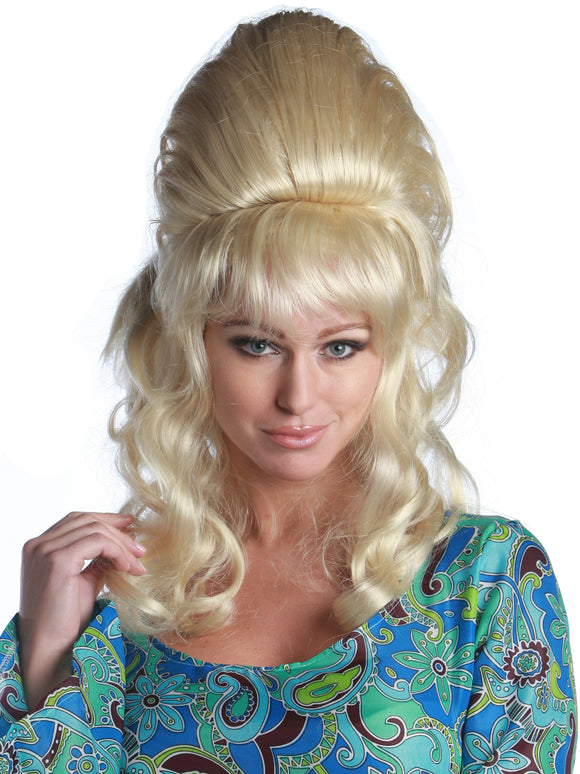 1960'S CURLY BEEHIVE PREMIUM WIG - 18 COLORS