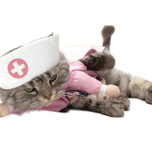 Nurse Costume For Cats