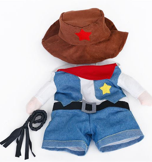 Kittenswear | Cat Cowboy Costume