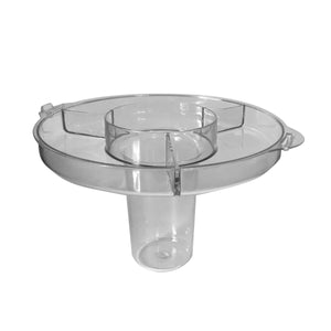Ice Core & Cup Holder Lid for 144 - 1.75 Gallon Party Top Beverage Dispenser
