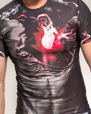 COMPRESSION T-SHIRT BLOOD SYSTEM