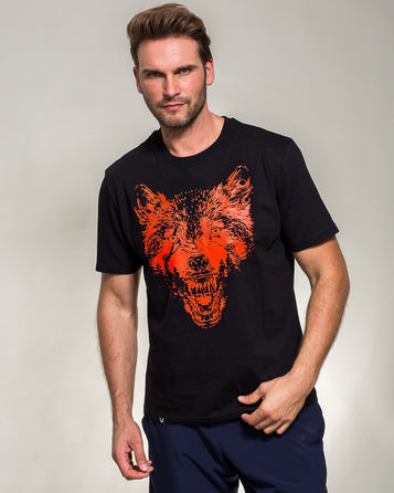 T-SHIRT CURSED SOLDIERS WOLF