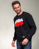 SWEATSHIRT WITH POLISH FLAG