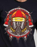 T-SHIRT STATE FIRE SERVICE FIREFIGHTER