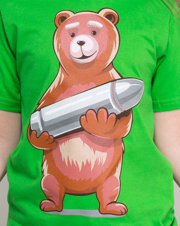 KIDS T-SHIRT WOJTUŚ BEAR