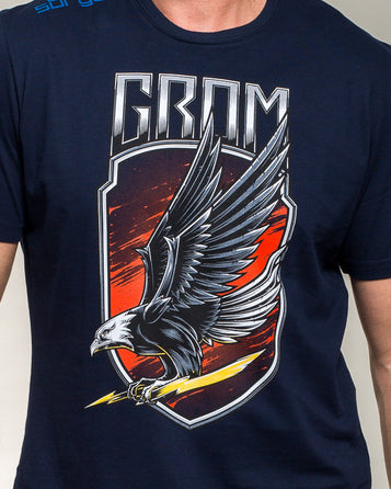 T-SHIRT MILITARY UNIT GROM EAGLE