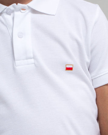POLO SHIRT POLISH FLAG