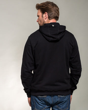 HOODIE WITH A ZIPPER POLISH AIR FORCE CHECKERBOARD
