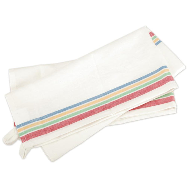 Stitch 'Em Up Retro Stripe Towels - Multi