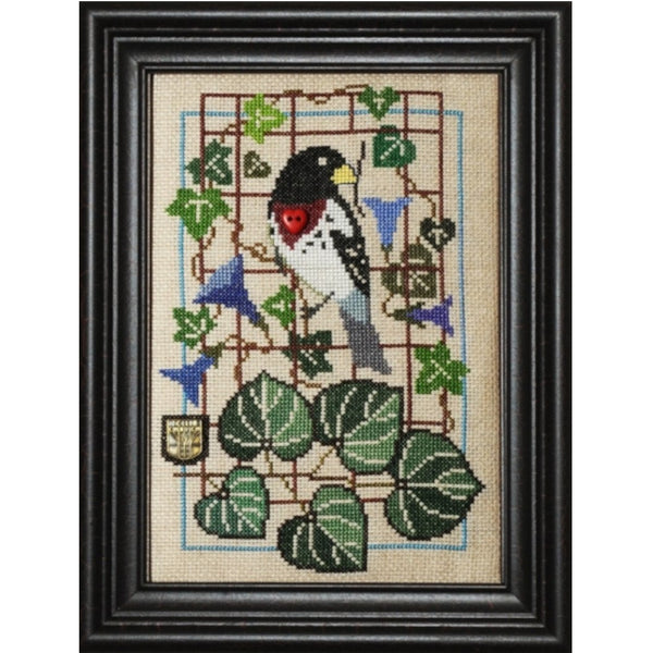 Birdie & Glories - Grosbeak Pattern