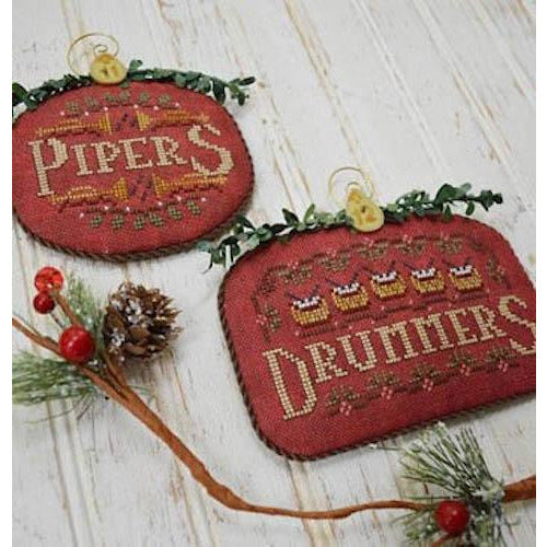 12 Days - Pipers & Drummers Pattern