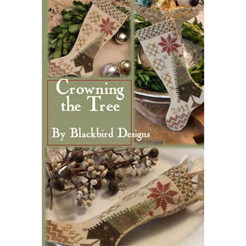 Crowning the Tree Stocking Pattern