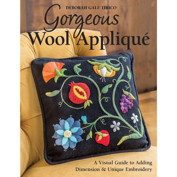 Gorgeous Wool Applique Book