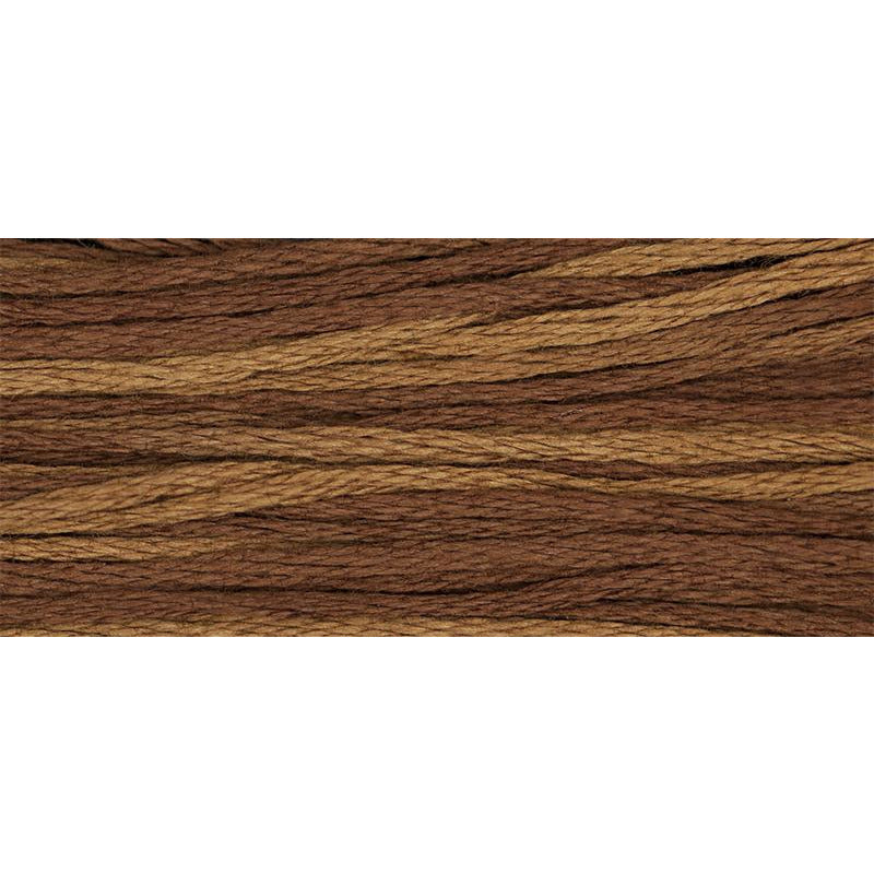 Swiss Chocolate 1237 Weeks Dye Works Embroidery Floss