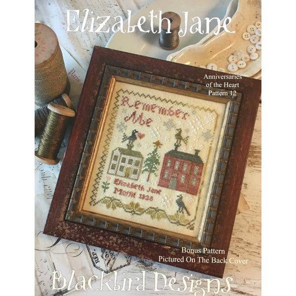 Anniversaries of the Heart Pattern 12 - Elizabeth Jane