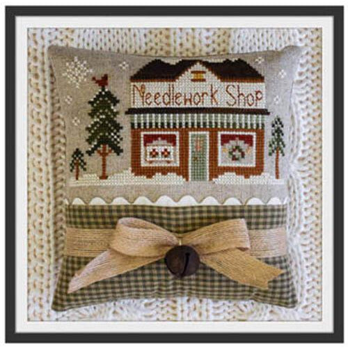 Hometown Holiday Series - 15 Needlework Shop Pattern