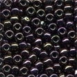 16004 Eggplant Size 6 Glass Beads