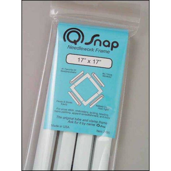 "Q Snap Needlework Frame 17"" x 17"""