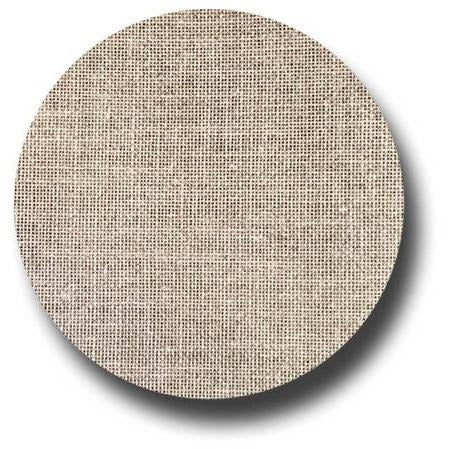 30 ct Natural Brown Undyed Linen