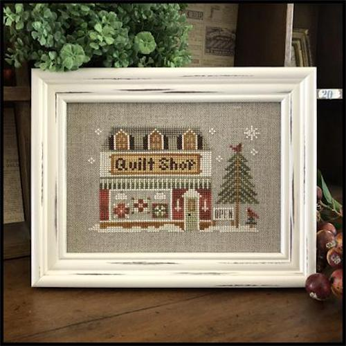 Hometown Holiday Series - 19 Quilt Shop