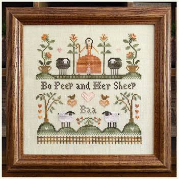 Bo Peep and Her Sheep Pattern