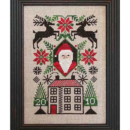 Limited Edition 2010- Santa's House Pattern