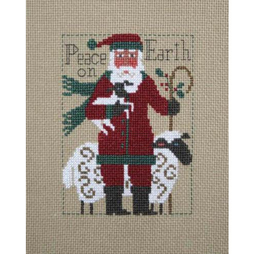 2019 Prairie Schooler Santa Cross Stitch Pattern