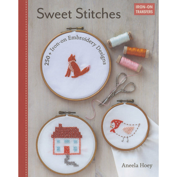 Sweet Stitches ~ Book of Iron-On Embroidery Transfers