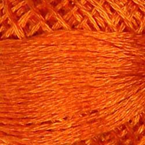 204 Bright Orange Coral Valdani 3-Strand Floss