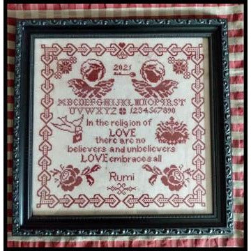 Wisdom of Love Sampler Pattern