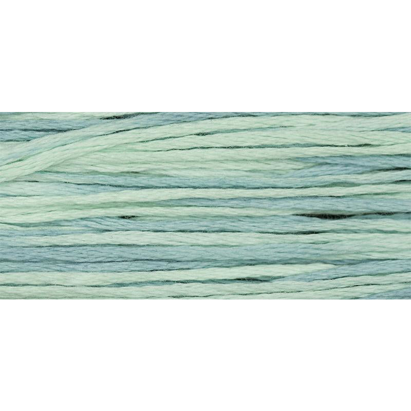 Aqua 2131 Weeks Dye Works Embroidery Floss