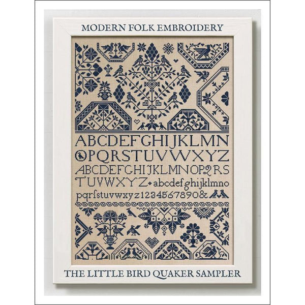 The Little Bird Quaker Sampler Pattern
