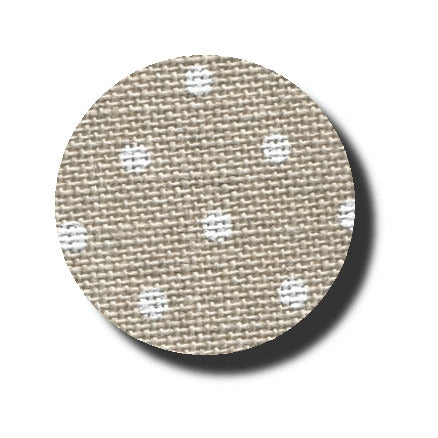 32 ct. Petit Point Raw Natural / White Belfast Linen